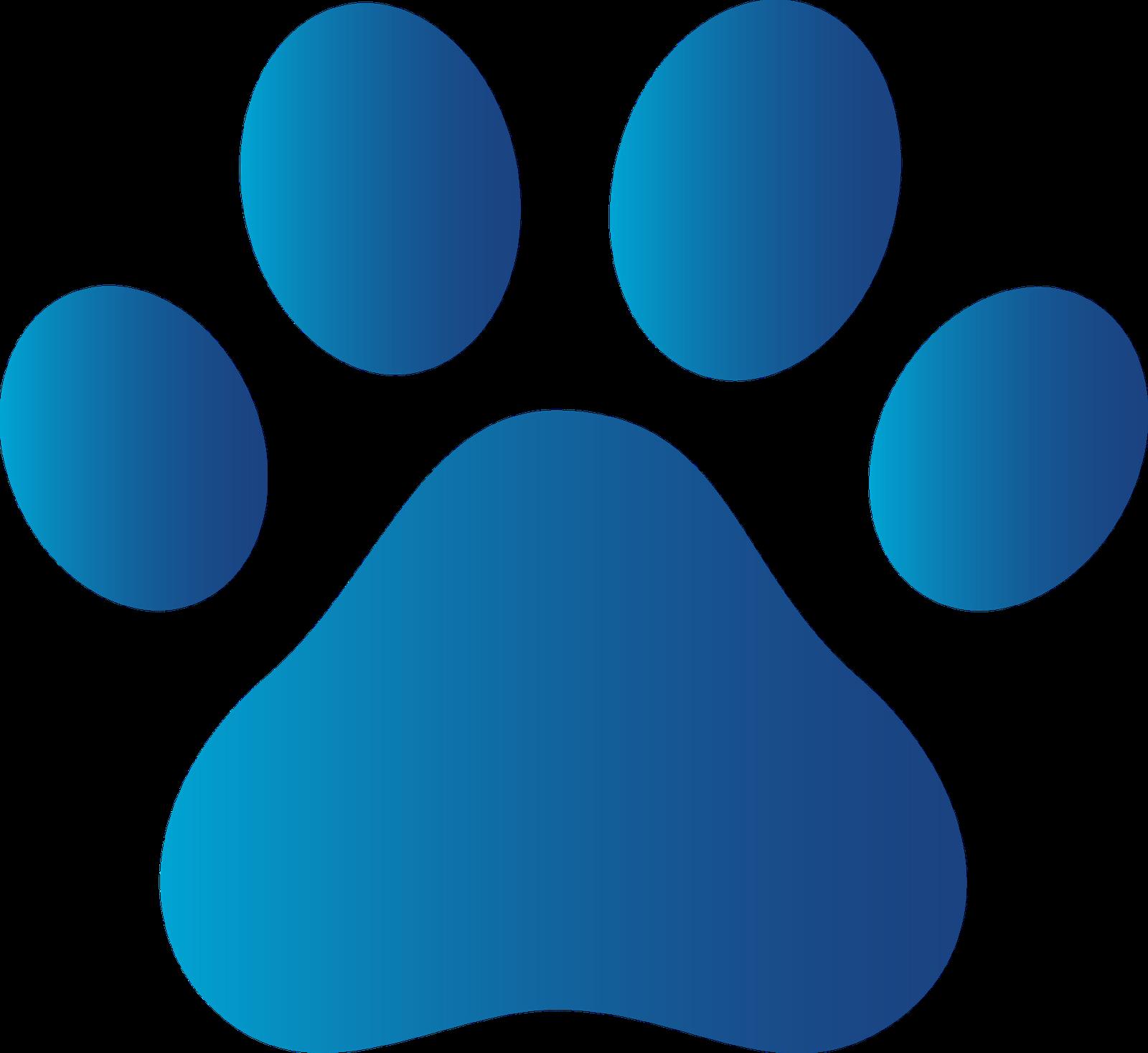 Colorful Foot Prints Logo