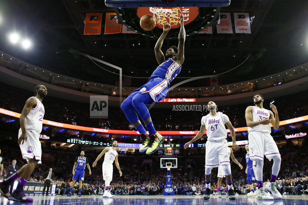 Sixers Score 83 By Halftime, Destroy Timberwolves By 42