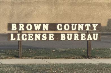 Brown County License bureau