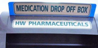 Drug take back box